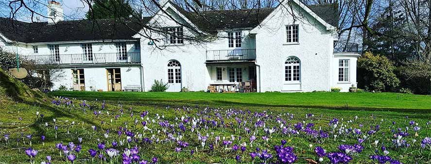 Abernant House situated in the picturesque Wye Valley