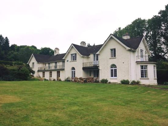 View of Abernant House - a guests photo